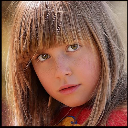 zdjęcie, portret, dziecko