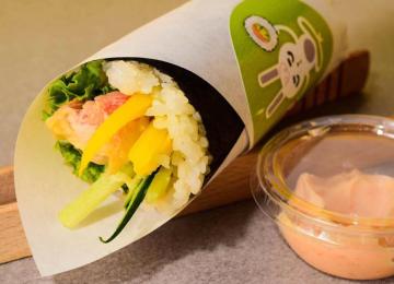 bunny hand roll, sushi gdynia,