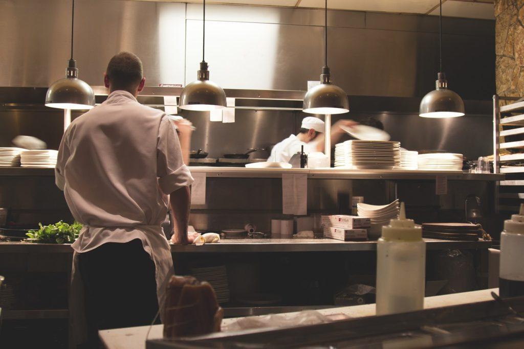 restauracja, zmywarka gastronomiczna, wyparzarka,
