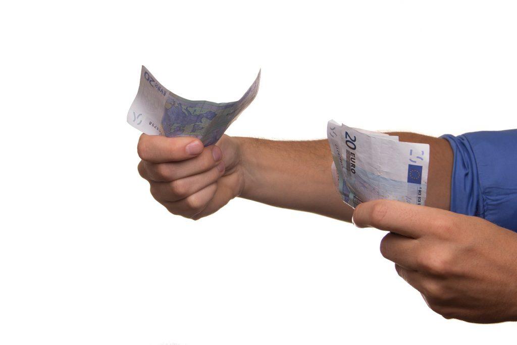 pieniądze, pożyczka
