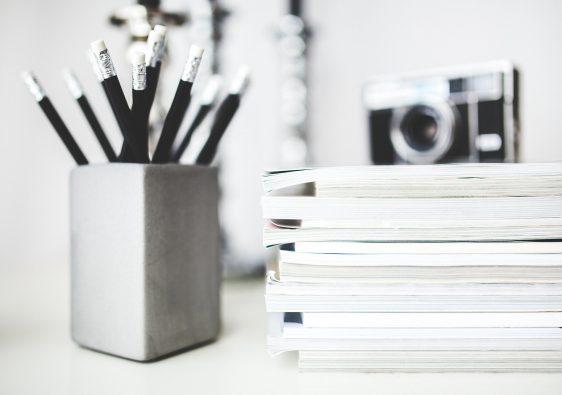 ołówki, pixabay, blog, pisanie,