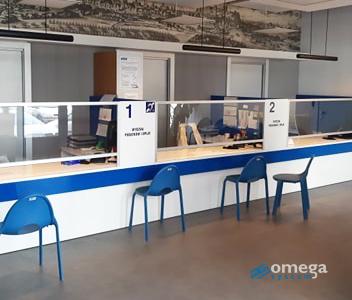 OmegaSystem, osłony higieniczne