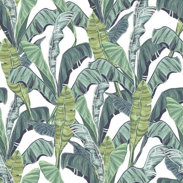 Tapety z wzorem botanicznym - pintado.pl